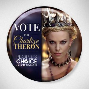 Charlize is Queen Ravenna in Snow White & The Huntsman - I recommend the extended edition with bonus features DVD
