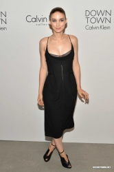 Rooney Mara is beautiful in this black dress