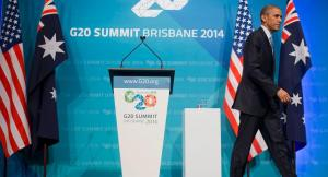 USA President Barack Obama @ G20 Summit Brisbane 2014